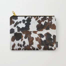 Cowhide Carry-All Pouch