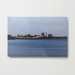 The 41 Bridge Over the Caloosahatchee I Metal Print