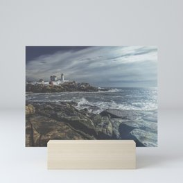 Nubble Light York Maine Mini Art Print