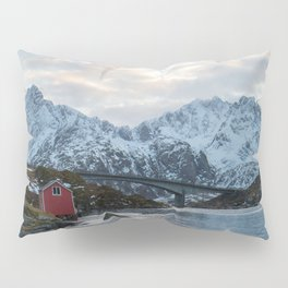 Lofoten winter Pillow Sham