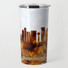 Belo Horizonte Brazil Skyline Travel Mug