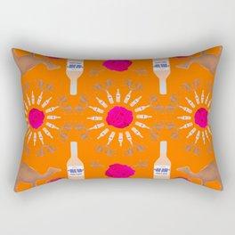 Desert Rosé I Rectangular Pillow