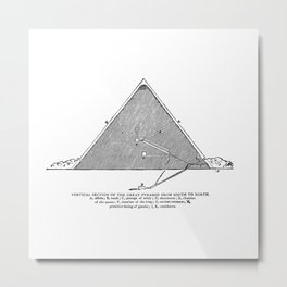The Great Pyramid (no caption!) Metal Print
