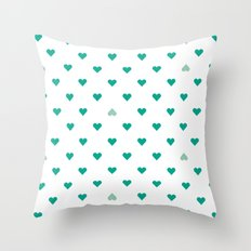 bleating hearts Throw Pillow