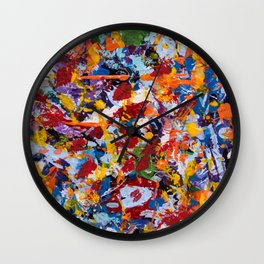 Crippled thoughts Wall Clock
