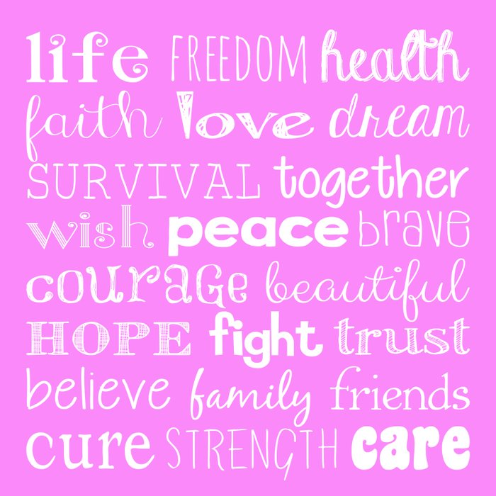 Breast Cancer 2015 light pink Duvet Cover