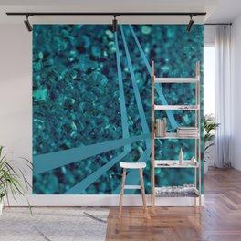 Eleganza 04,blue Wall Mural
