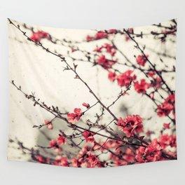 Printemps Rose Wall Tapestry