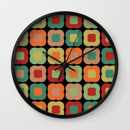 Rangeen Barghakhetra Char Wall Clock