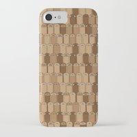 sloths iPhone & iPod Cases featuring Bunch of Sloths by Bakus