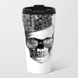 King skull Metal Travel Mug