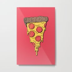 Pizza Party! Metal Print