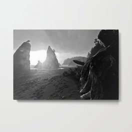 Split Rock Metal Print