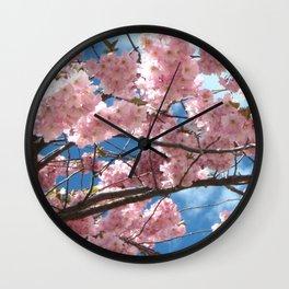 Cherry Tree In Bloom Wall Clock