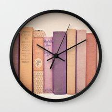 Literary Gems II Wall Clock