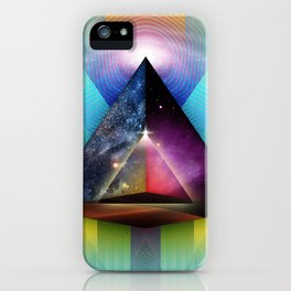 Inward Traveler iPhone Case