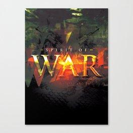 Spirit of War Canvas Print