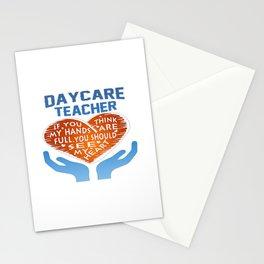 Daycare Teacher Stationery Cards