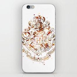 Hogwarts Crest iPhone Skin