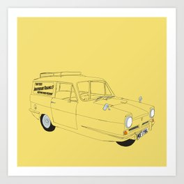 Only Fools and Horses Robin Reliant Art Print