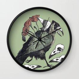 Whitewash Wall Clock