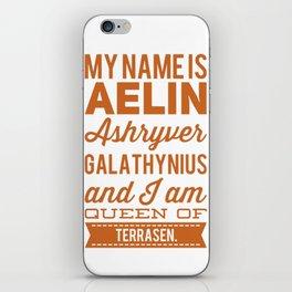 Aelin iPhone Skin