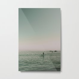 SO-CAL SEASIDE Metal Print