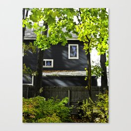 Orange House Canvas Print