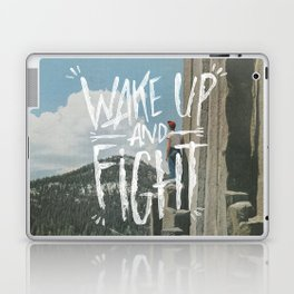 WAKE UP AND FIGHT (AGAIN!) Laptop & iPad Skin