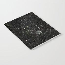 Space - Stars - Starry Night - Black - Universe - Deep Space Notebook