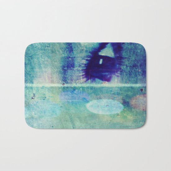 The Glaring Sea Bath Mat