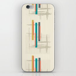 "Mid Century Modern ""Bar"" iPhone Skin"