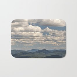 from peaked mountain Bath Mat