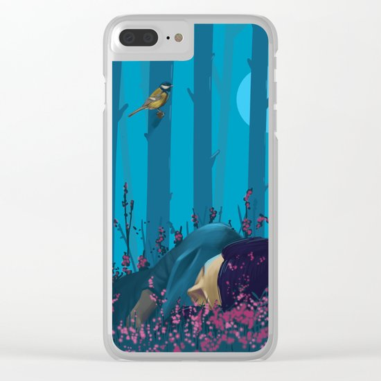 atmosphere Clear iPhone Case