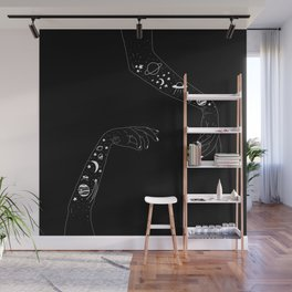 Space Arms Wall Mural
