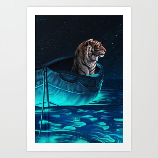 Richard Parker Art Print