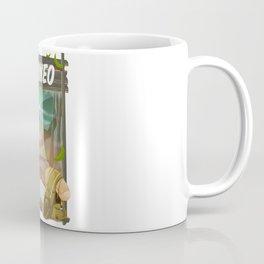 Borneo Jungle poster. Coffee Mug