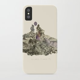 Lima. Bear and maiden. iPhone Case