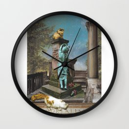 Statue of Limitations Wall Clock