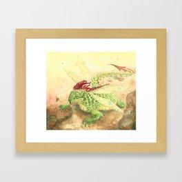 The Dragonfly Framed Art Print