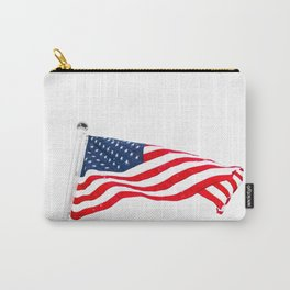 The American Flag (Color) Carry-All Pouch