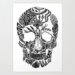 Dia de los muertos by Floris V Art Print