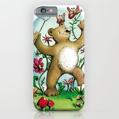 Bear and butterfly iPhone 6s Slim Case