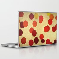 circles Laptop & iPad Skins featuring Circles by SensualPatterns