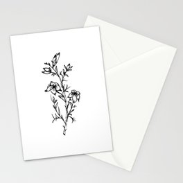 Carolina Jessamine Wildflower Stationery Cards
