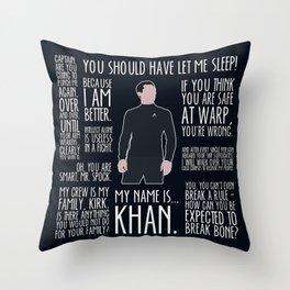 John Harrison / Khan Throw Pillow