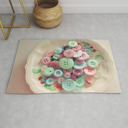 Bowl of Buttons Rug