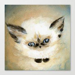 Little Fluff Canvas Print