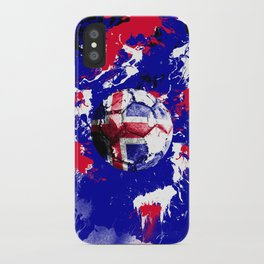 football Iceland iPhone Case