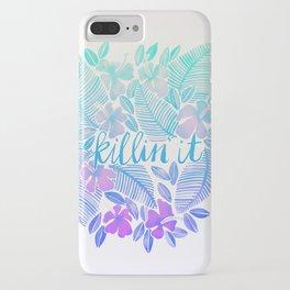 Killin' It – Turquoise + Lavender Ombré iPhone Case